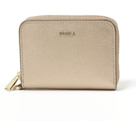 Furla フルラ 1000230 PBD2 SFM BABYLON S ZIP AROUN メタリックレザ
