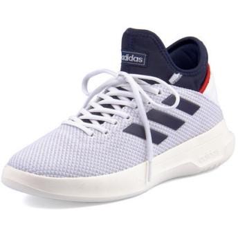 adidas(アディダス) FUSIONSTORM メンズスニーカー(フュージョンストーム) F36212 ランニングホワイト/ダークブルー/アクティブレッド ハイ/ミッドカット
