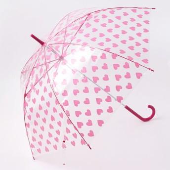 【fururi】ふるり プリント長傘 ハート