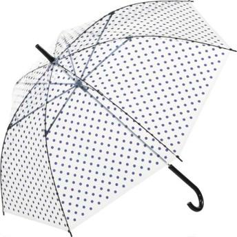 【fururi】ふるり) 着せ替えができるビニール傘 ネイビードット(フルリ)