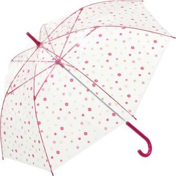 【fururi】ふるり) 着せ替えができるビニール傘 レッドフラワー(フルリ)