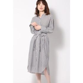 ketty / 【洗濯可能】キュプラシャツワンピース