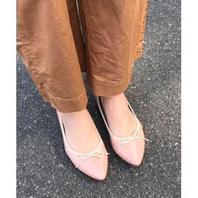 リーカ RiiiKa ポインテッドトゥリボンレインパンプス (pink)