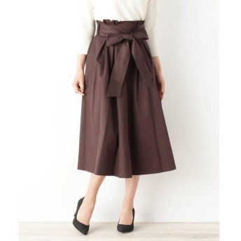 OPAQUE.CLIP / オペーク ドット クリップ 【洗濯機洗いOK】オトナチノフレアサッシュスカート