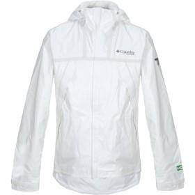 《セール開催中》COLUMBIA メンズ ブルゾン ホワイト S リサイクルポリエステル 100%