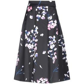 《セール開催中》GUESS BY MARCIANO レディース 7分丈スカート ブラック 40 ポリエステル 96% / ポリウレタン 4%