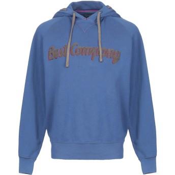 《期間限定セール開催中!》BEST COMPANY メンズ スウェットシャツ ブルーグレー S コットン 100%