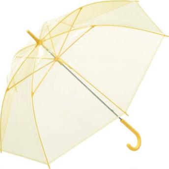 【fururi】ふるり) 着せ替えができるビニール傘 無地 イエロー(フルリ)