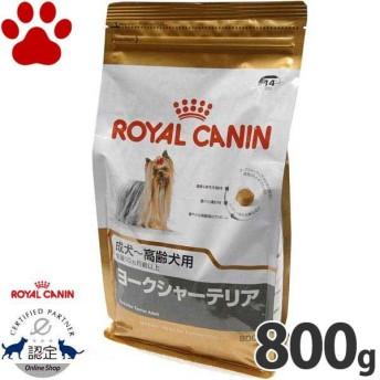 【9】 [正規品] ロイヤルカナン 犬ドライ ヨークシャーテリア 成犬/高齢犬用(10か月以上) 800g 犬種別 ドッグフード ドライ ロイカナ BHN