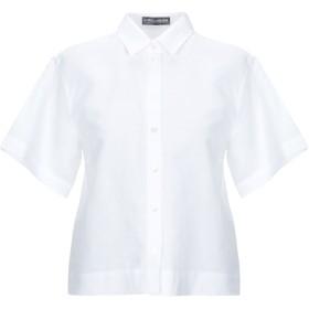《期間限定 セール開催中》DOLCE & GABBANA レディース シャツ ホワイト 38 麻 67% / コットン 33%