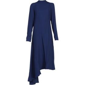《期間限定セール中》MARNI レディース 7分丈ワンピース・ドレス ダークブルー 40 レーヨン 58% / アセテート 42%