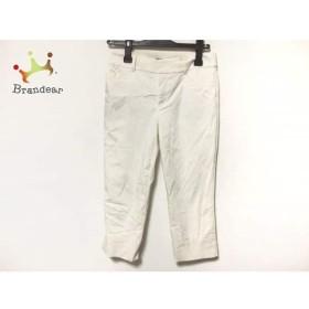 ニジュウサンク 23区 パンツ サイズ38 M レディース 白     スペシャル特価 20190815