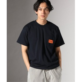 JOURNAL STANDARD THUMPERS NYC for JS/サンパースexclusiveモデル::WORK Tシャツ ネイビー L