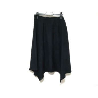 【中古】 ローズティアラ Rose Tiara ロングスカート サイズ46 XL レディース 黒