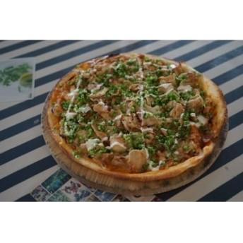 【本格ピッツァ!】もっちり食感♪米ヶ岡ポーク使用 手作りピザ(なはりたん)sat498 31