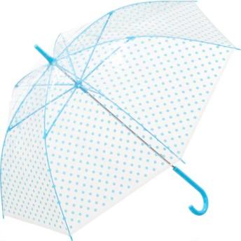 【fururi】ふるり) 着せ替えができるビニール傘 ブルードット(フルリ)