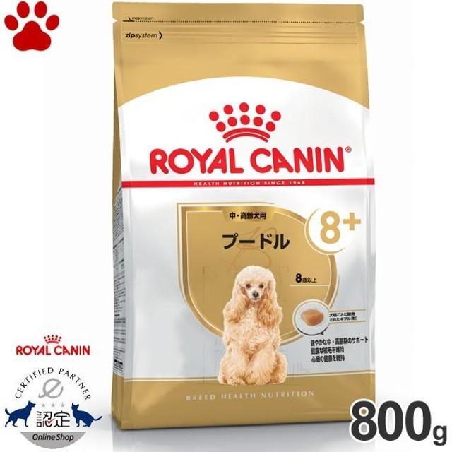 【9】 [正規品] ロイヤルカナン 犬ドライ プードル 中高齢犬/高齢犬用(8歳以上) 800g 犬種別 ドッグフード ドライ ロイカナ BHN