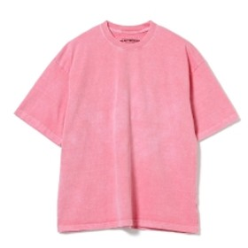 BEAMS T HEAVYWEIGHT COLLECTIONS × BEAMS T / 別注 PIGMENT DIE SOLID TEE メンズ Tシャツ RED M