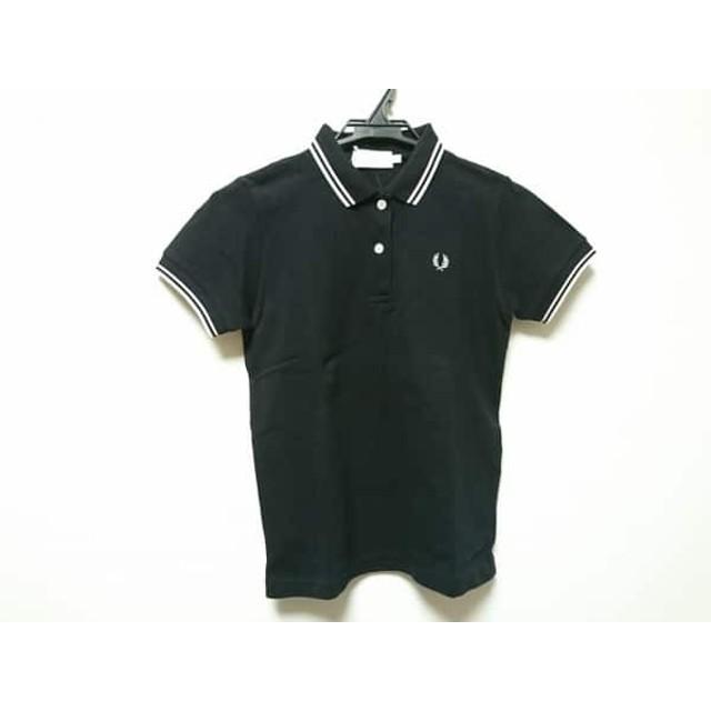 89e291872aefe7 【中古】 フレッドペリー FRED PERRY 半袖ポロシャツ サイズM レディース 黒 ピンク 白