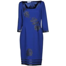 《セール開催中》CAILAN'D レディース ミニワンピース&ドレス ブルー 42 ポリエステル 96% / ポリウレタン 4%