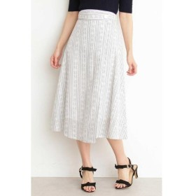 PROPORTION BODY DRESSING / プロポーションボディドレッシング  コットンアイレットミディフレアースカート