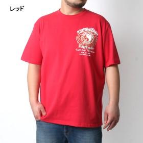 Tシャツ - MARUKAWA T & C Tシャツ 大きいサイズ メンズ 夏 半袖 プリント ブラック/レッド/ネイビー 2L/3L/4L/5L/6L【ブランドサーフ】