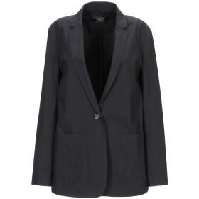《セール開催中》CIVIDINI レディース テーラードジャケット ブラック 38 コットン 95% / ポリウレタン 5%
