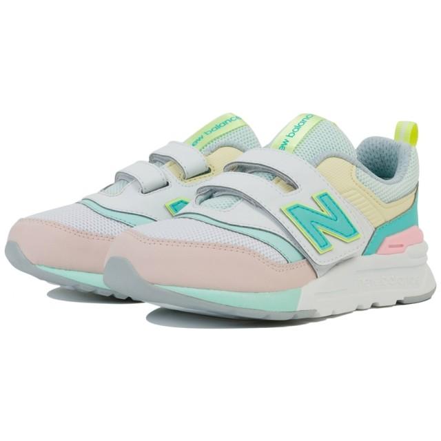 (NB公式)【ログイン購入で最大8%ポイント還元】 キッズ PZ997 CL (ピンク) スニーカー シューズ 靴 ニューバランス newbalance
