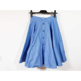 【中古】 ザ ヴァージニア The Virgnia スカート サイズ36 S レディース 美品 ブルー