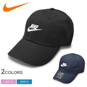 NIKE ナイキ 帽子 キャップ H86 フューチュラ ウォッシュド 913011 メンズ レディース 刺繍 ロゴ シンプル