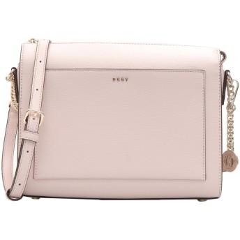 《セール開催中》DKNY レディース メッセンジャーバッグ ライトピンク 牛革 100% WOMEN'S HANDBAG