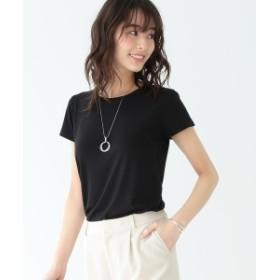 B:MING by BEAMS / テンセル天竺 ベーシックTシャツ 19SS-P レディース Tシャツ BLACK ONE SIZE