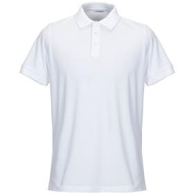 《セール開催中》GIOFERRARI メンズ ポロシャツ ホワイト 50 コットン 100%