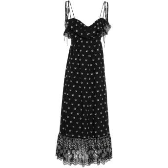 《セール開催中》ATHENA PROCOPIOU レディース 7分丈ワンピース・ドレス ブラック 1 コットン 100%