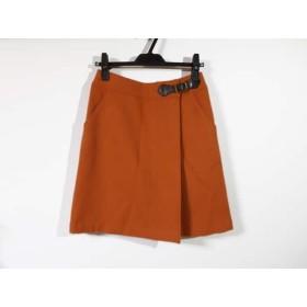 【中古】 マッキントッシュフィロソフィー スカート サイズ38 L レディース オレンジ