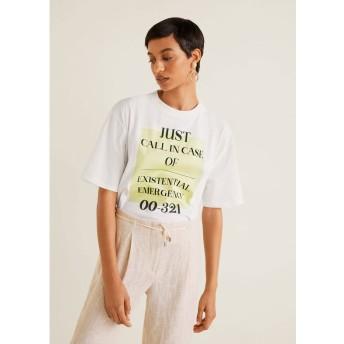 Tシャツ - CALL (ナチュラルホワイト)
