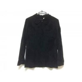 【中古】 スキャパ Scapa チュニック サイズ38 L レディース 黒 袖部分シースルー