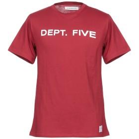 《セール開催中》DEPARTMENT 5 メンズ T シャツ ボルドー XXL コットン 100%