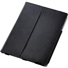エレコム Surface Go ソフトレザーカバー 2アングル ブラック (1コ入)