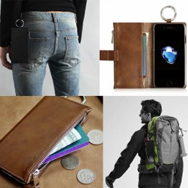 iPhone 8 / 7ケース 手帳型 DreamPlus ENTER RING JACKET アイフォン カバー 4.7インチ お財布付きケース