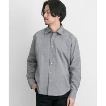 アーバンリサーチ URBAN RESEARCH Tailor 40OXワッシャーシャツ メンズ BLACK L 【URBAN RESEARCH】