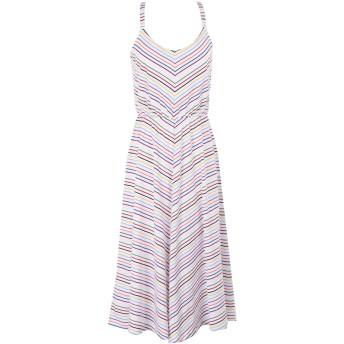 《9/20まで! 限定セール開催中》TRE CCILE レディース 7分丈ワンピース・ドレス ホワイト XS コットン 100% RAINBOW BRETON PARIS SUN DRESS