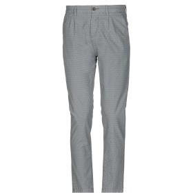 《セール開催中》YAN SIMMON メンズ パンツ 鉛色 46 コットン 58% / ポリエーテル 40% / ポリウレタン 2%