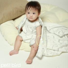 30cedc3de696f スリーパー 赤ちゃん COCO GARDEN うさぎ グレー オーガニック コットン 綿 ナチュラル petitbird ベビー 男の子 女の子 布団  ラビット
