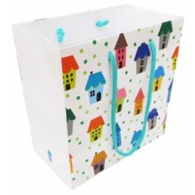 エヒメ紙工 デザインペーパーバッグ Sサイズ 10枚パック ハウス IE-S-10P