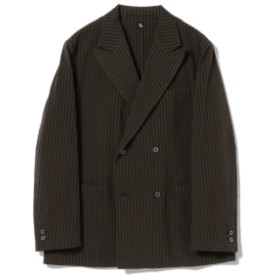KAPTAIN SUNSHINE / Fieldwrap Double-Breasted Jackt メンズ テーラードジャケット Black 40