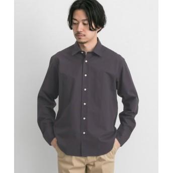 アーバンリサーチ URBAN RESEARCH Tailor ミクロチェックシャツ メンズ BROWN S 【URBAN RESEARCH】