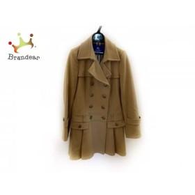 バーバリーブルーレーベル Burberry Blue Label コート サイズ40 M レディース ブラウン 冬物  値下げ 20190414
