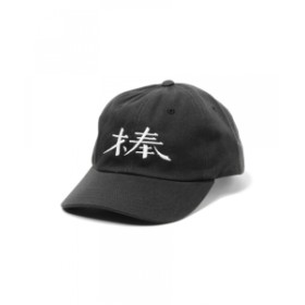 VOU / 棒CAP メンズ キャップ BLACK ONE SIZE