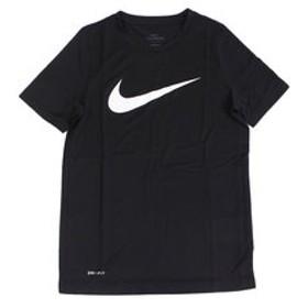 【Super Sports XEBIO & mall店:トップス】【オンライン特価】 ユース ドライフィット レッグ スウッシュTシャツ AR5307-011SU19